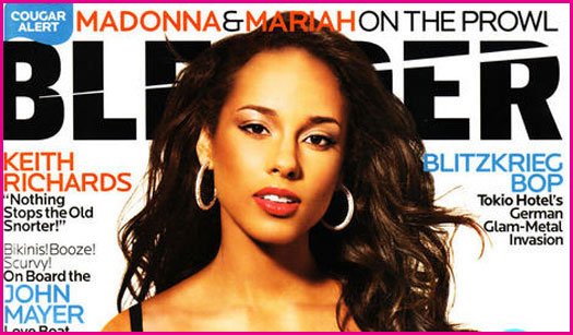 Alicia Keys in BLENDER