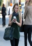 Hilary Duff Street Style Out in West Hollywood