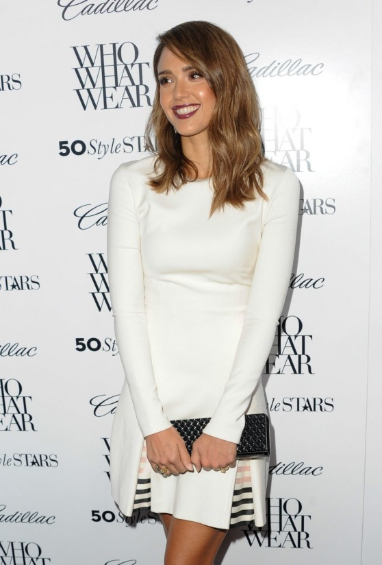 Jessica Alba - 50 Most Fashionable Women Of 2013 Event in West Hollywood