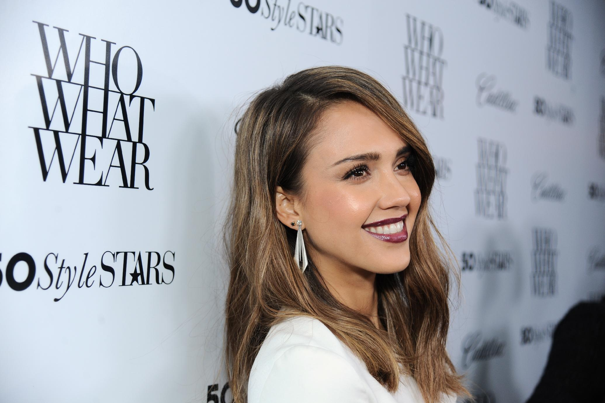 Jessica Alba - 50 Most Fashionable Women Of 2013 Event in West