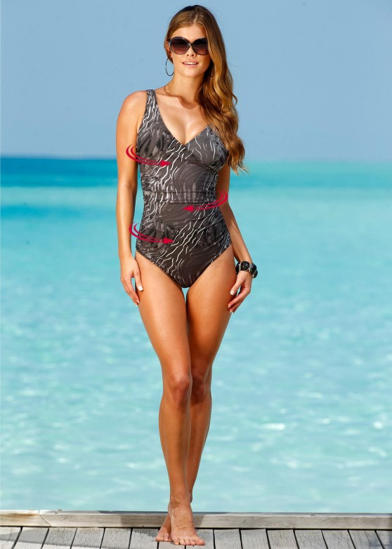 Nina Agdal   Bon Prix Swimwear Photoshoot 2013
