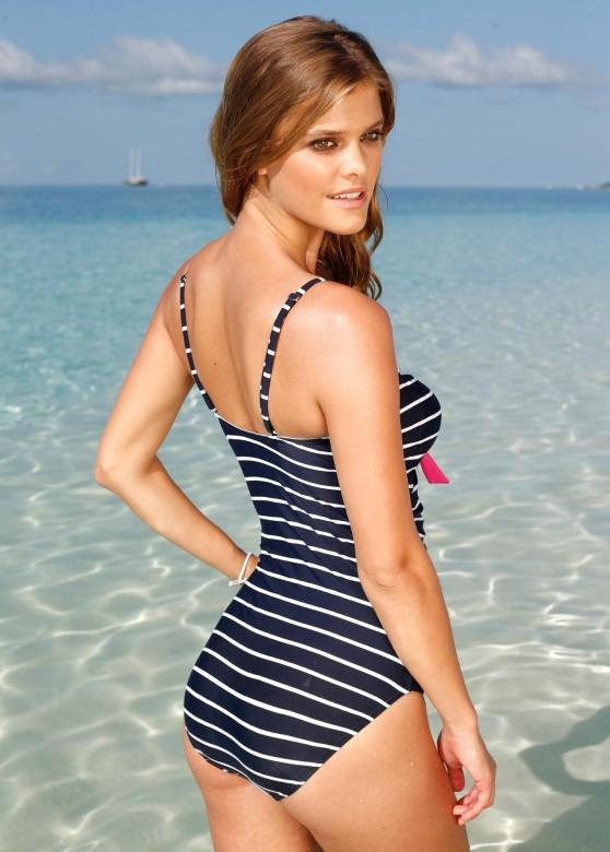Nina Agdal   Bon Prix Swimwear Photoshoot 2013 - 5