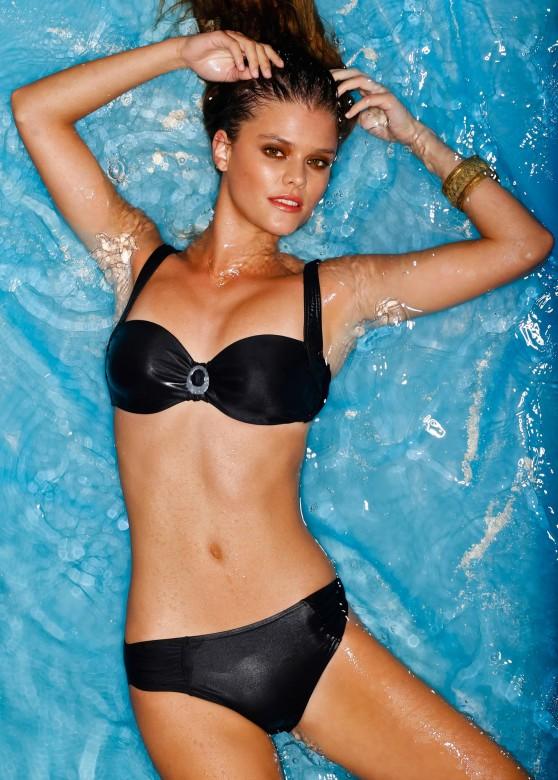 Nina Agdal   Bon Prix Swimwear Photoshoot 2013 - 6