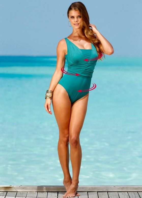 Nina Agdal | Bon Prix Swimwear Photoshoot 2013 - 7