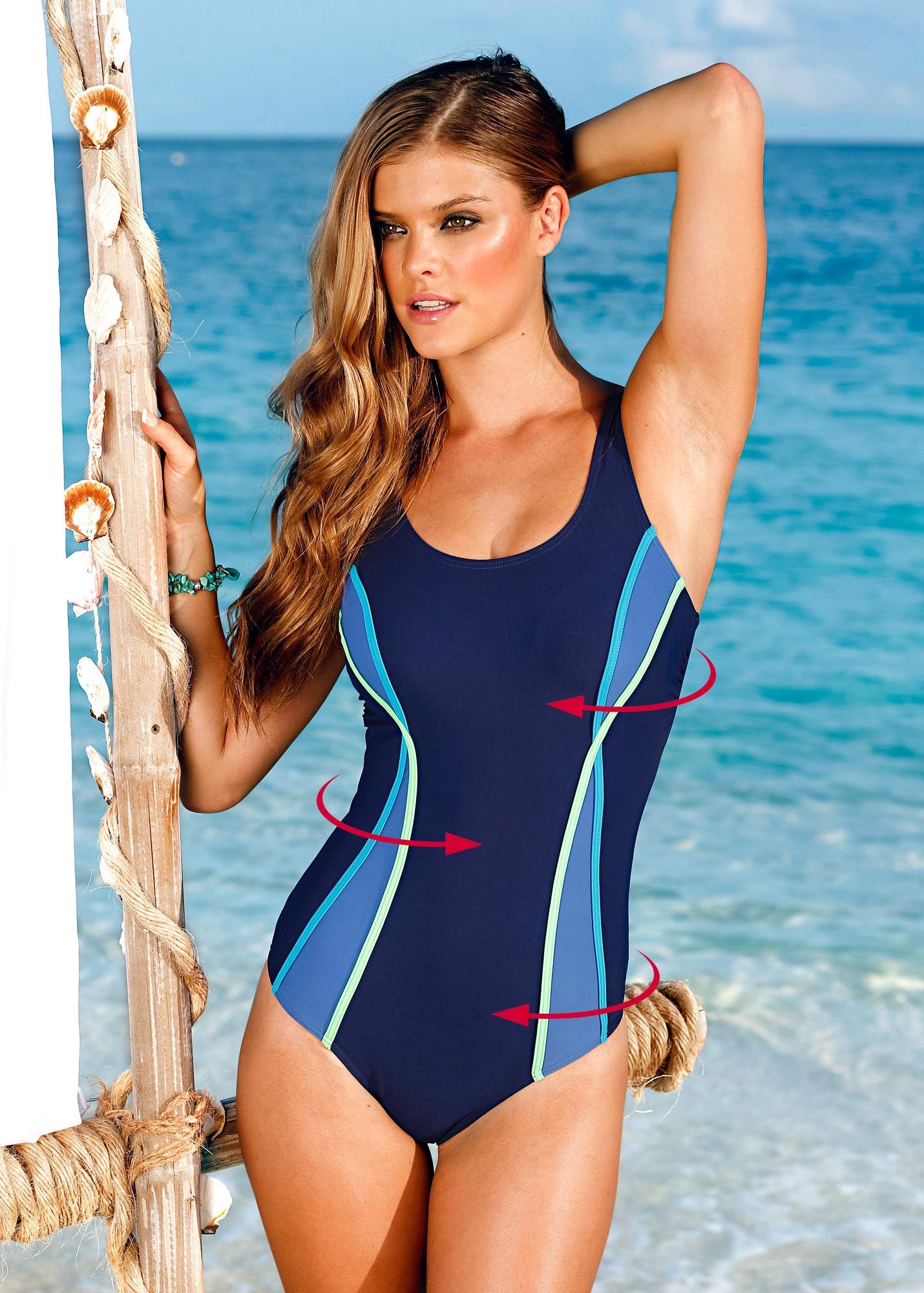 Nina Agdal - Bon Prix Swimwear Photoshoot