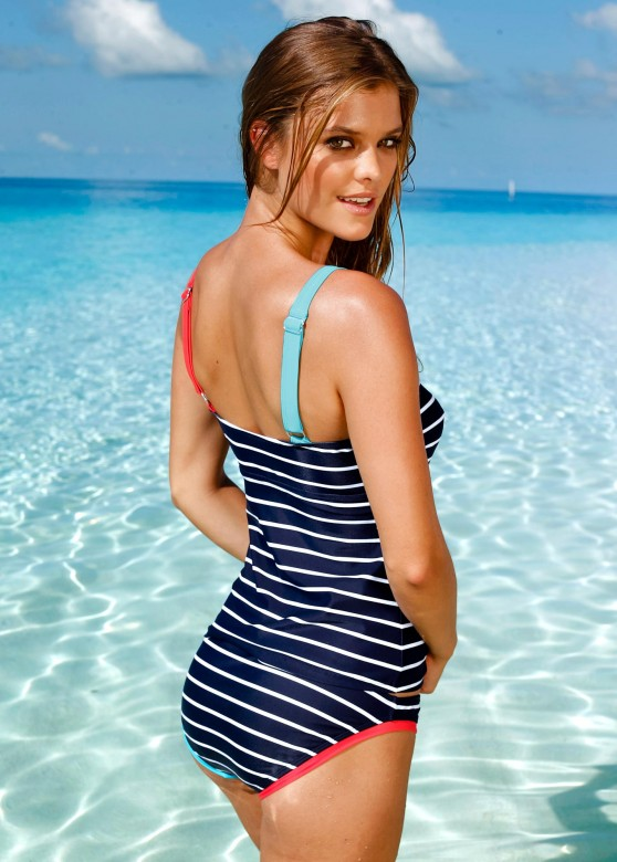 Nina Agdal | Bon Prix Swimwear Photoshoot 2013 - 10