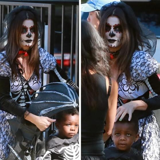 Sandra Bullock: Halloween costume 2013