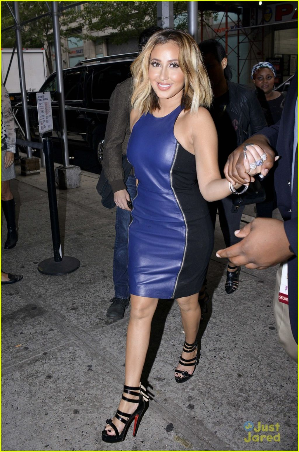 Adrienne Bailon Photos - Leaving The Wendy Williams Show