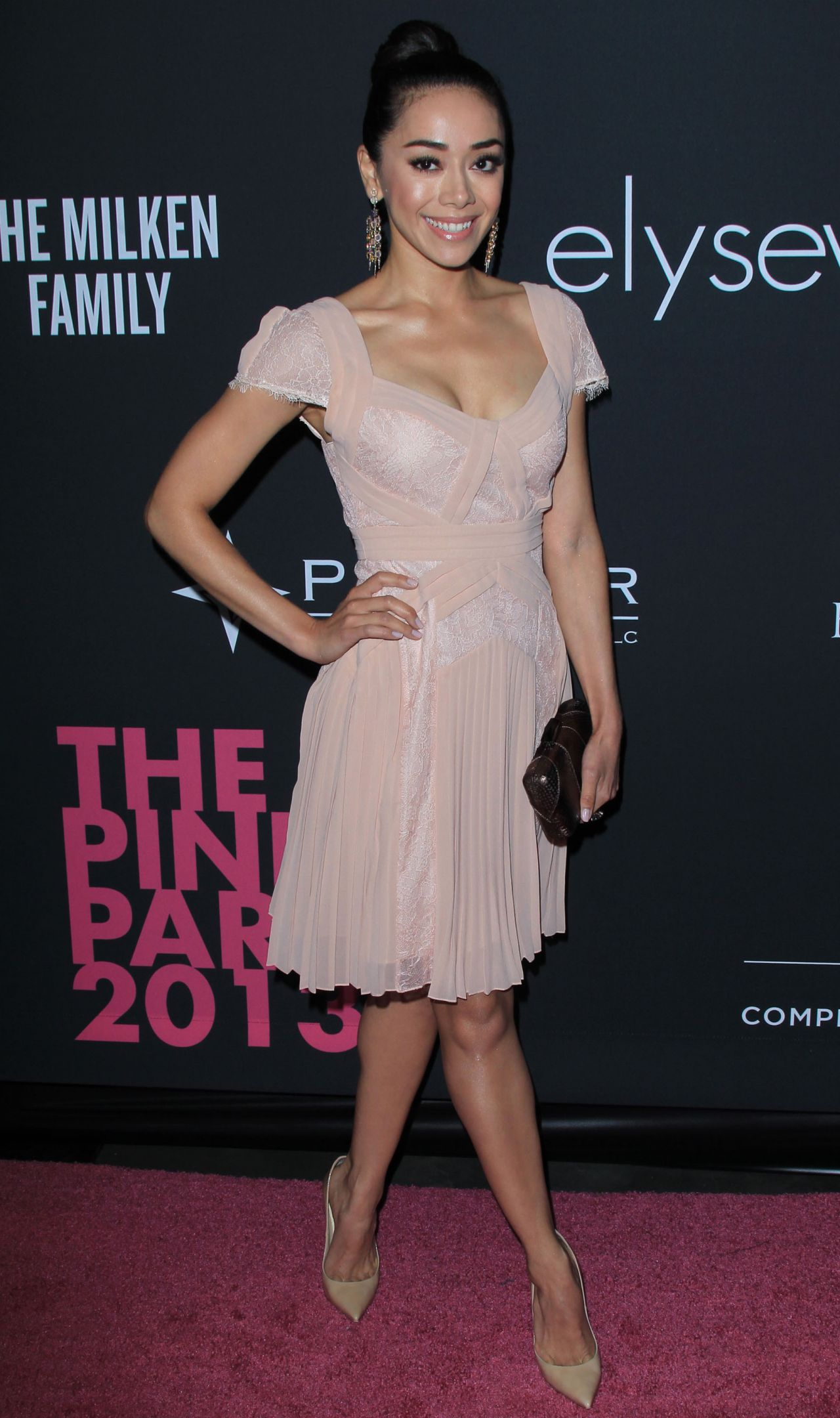 Aimee Garcia - Elyse Walker Presents The Pink Party 2013