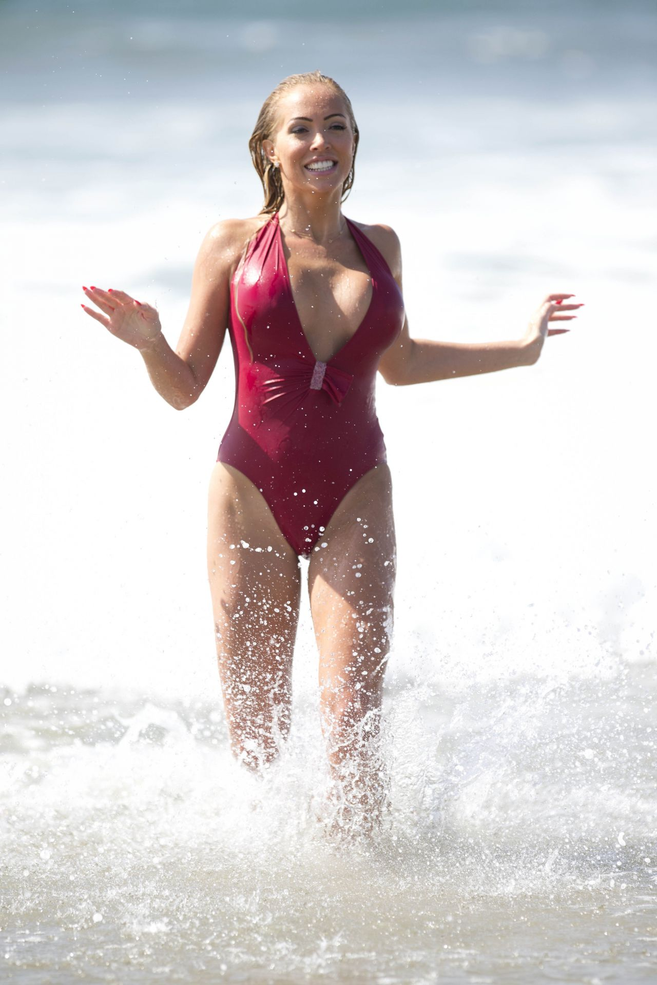 Aisleyne Horgan-Wallace in Bikini