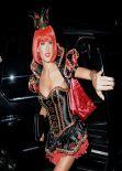 Alessandra Ambrosio at Casamigos Halloween Party