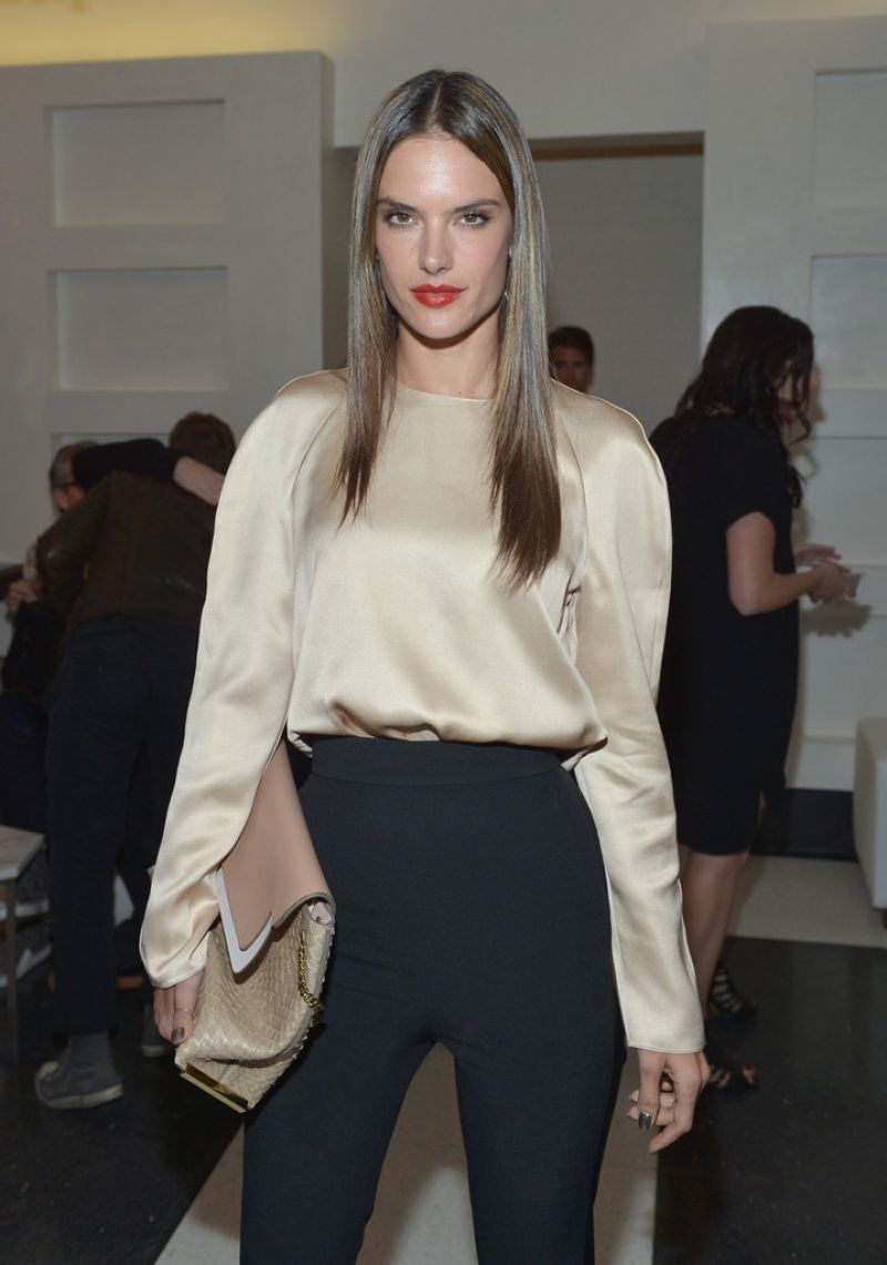 Alessandra Ambrosio at Chloe Los Angeles Fashion Show & Dinner