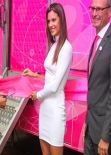 Alessandra Ambrosio - Philips Beauty Pink Project Event in Brazil
