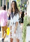 Alessandra Ambrosio Photo Shoot Set Candids in Beverly Hills