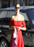 Alessandra Ambrosio - Takes Her Daughter Anja to Ballet Classes in Brentwood