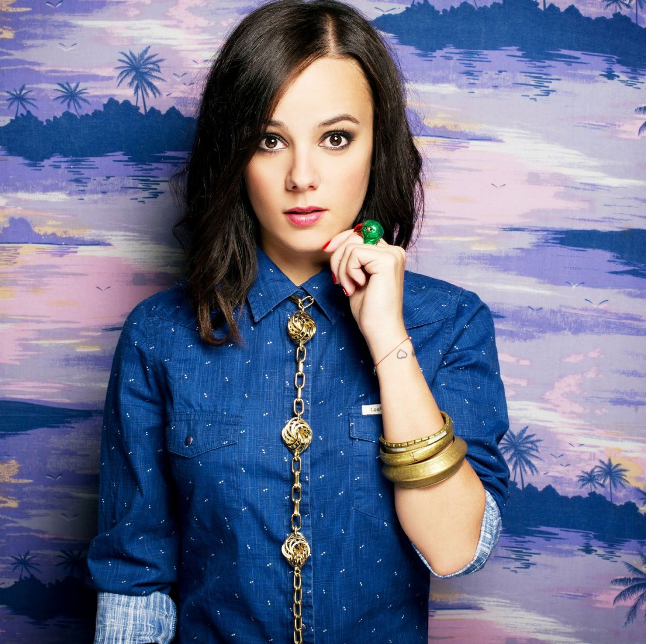 Alizee in POSE Magazine