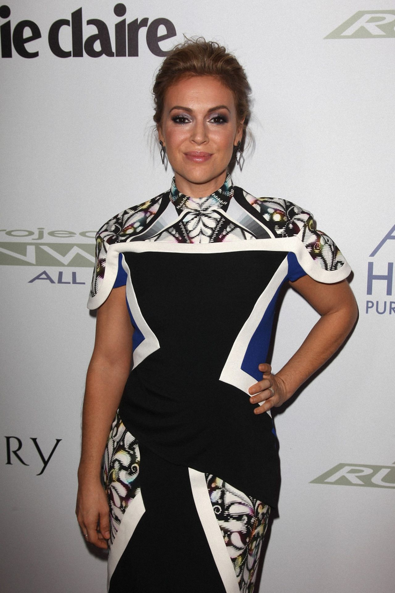 Project Runway All Stars Premiere Party: HOST Alyssa Milano dishes on