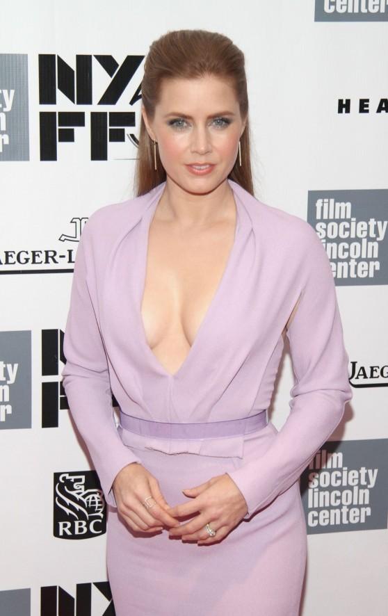 Amy Adams - Closing Night Gala Presentation Of HER Movie, New York Film Fest