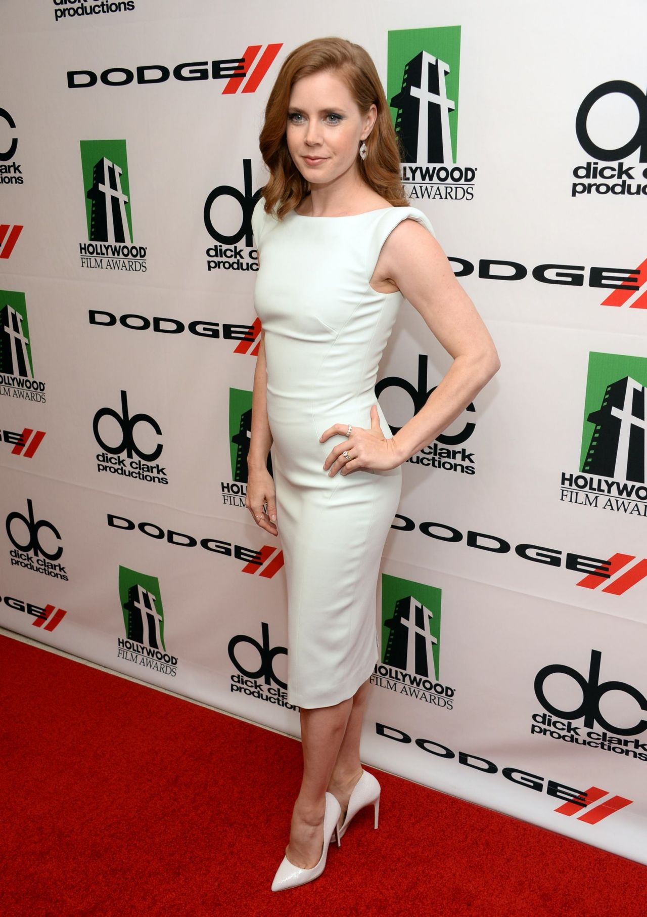 Amy Adams Red Carpet Photos - 17th Annual Hollywood Film Awards
