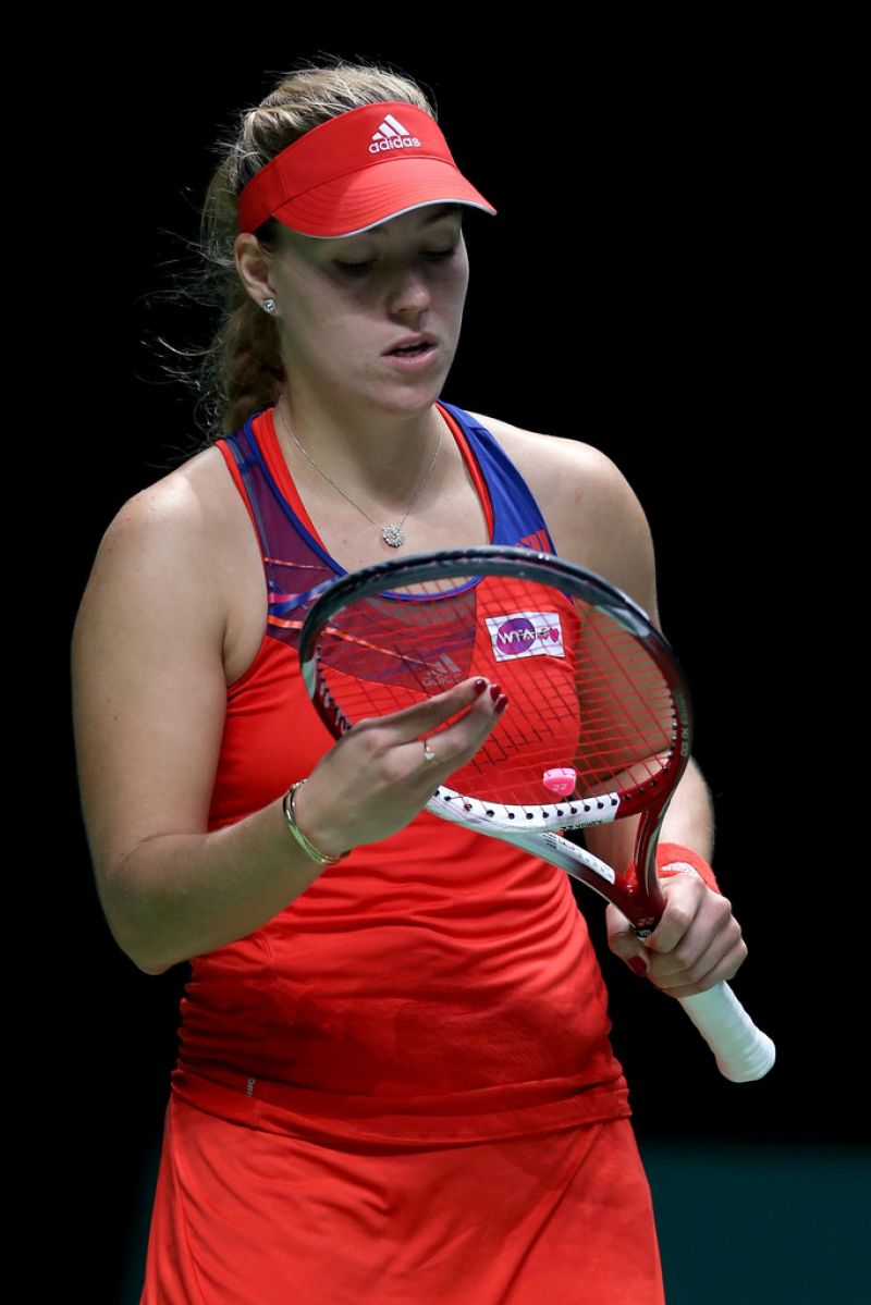 Angelique Kerber - TEB BNP Paribas WTA Championships Day 4 in Istanbul