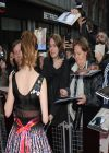 Anna Kendrick on Red Carpet - DRINKING BUDDIES Screening in London