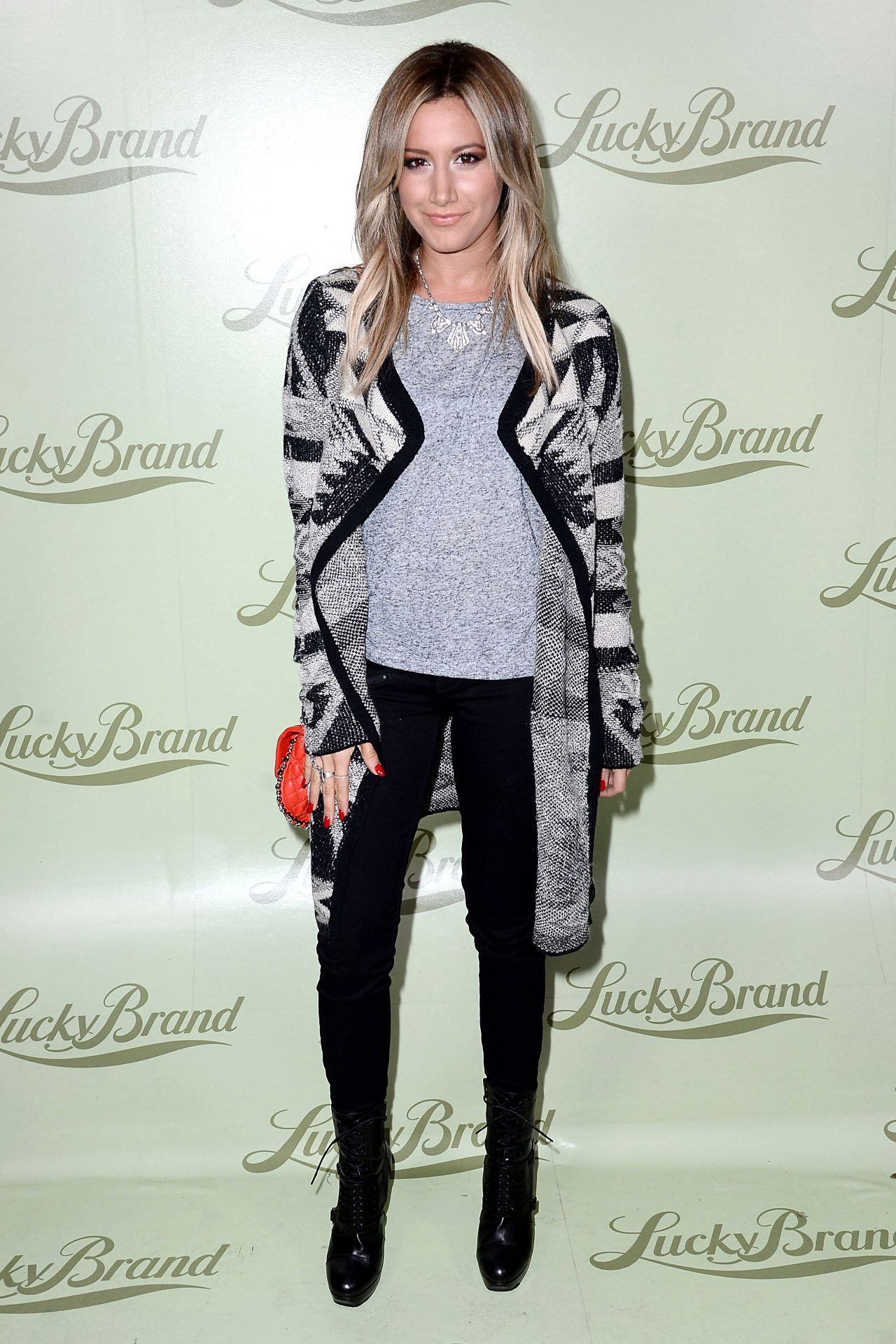Ashley Tisdale - Lucky Brand Store Opening in Beverly Hills