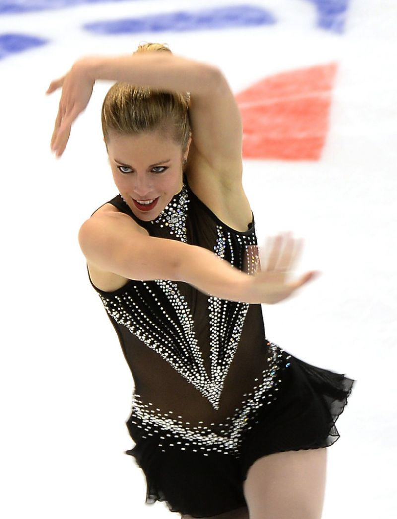 Ashley Wagner - Skate America 2013 in Detroit