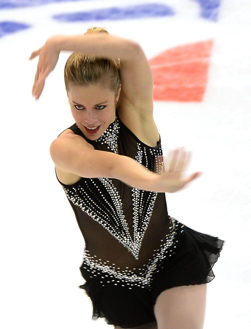 Ashley Wagner - Skate America 2013 in Detroit