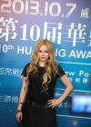Avril Lavigne - Huading Awards Ceremony at The Venetian in Macau