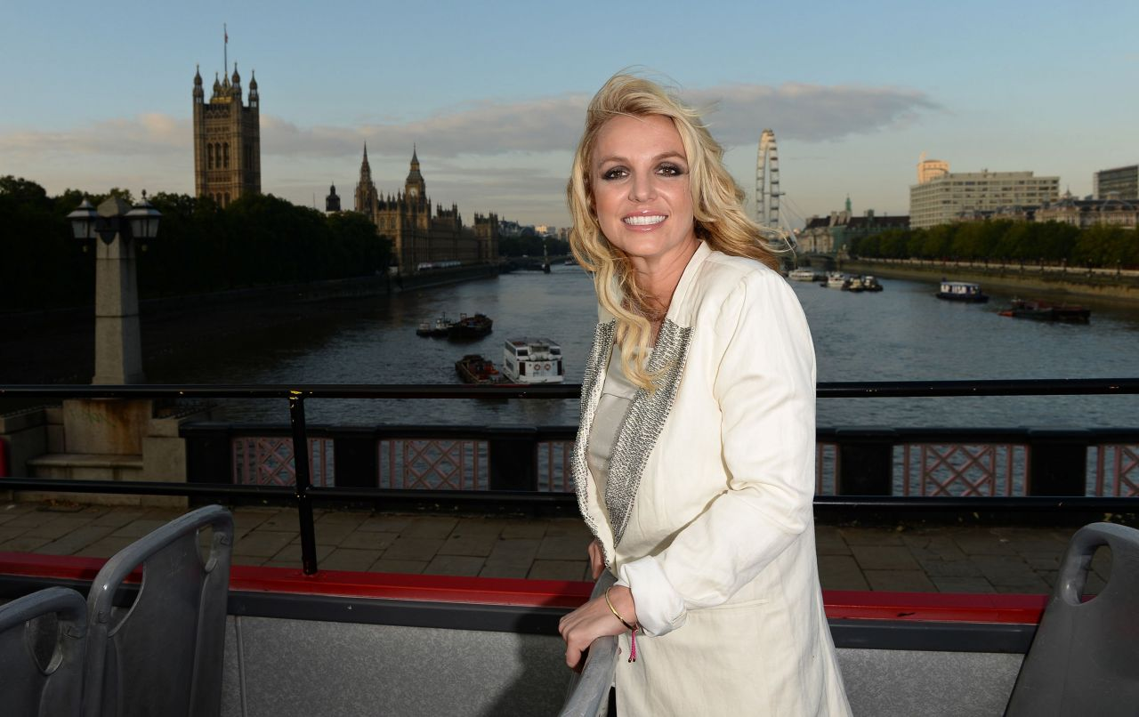 Britney Spears in London, October 2013