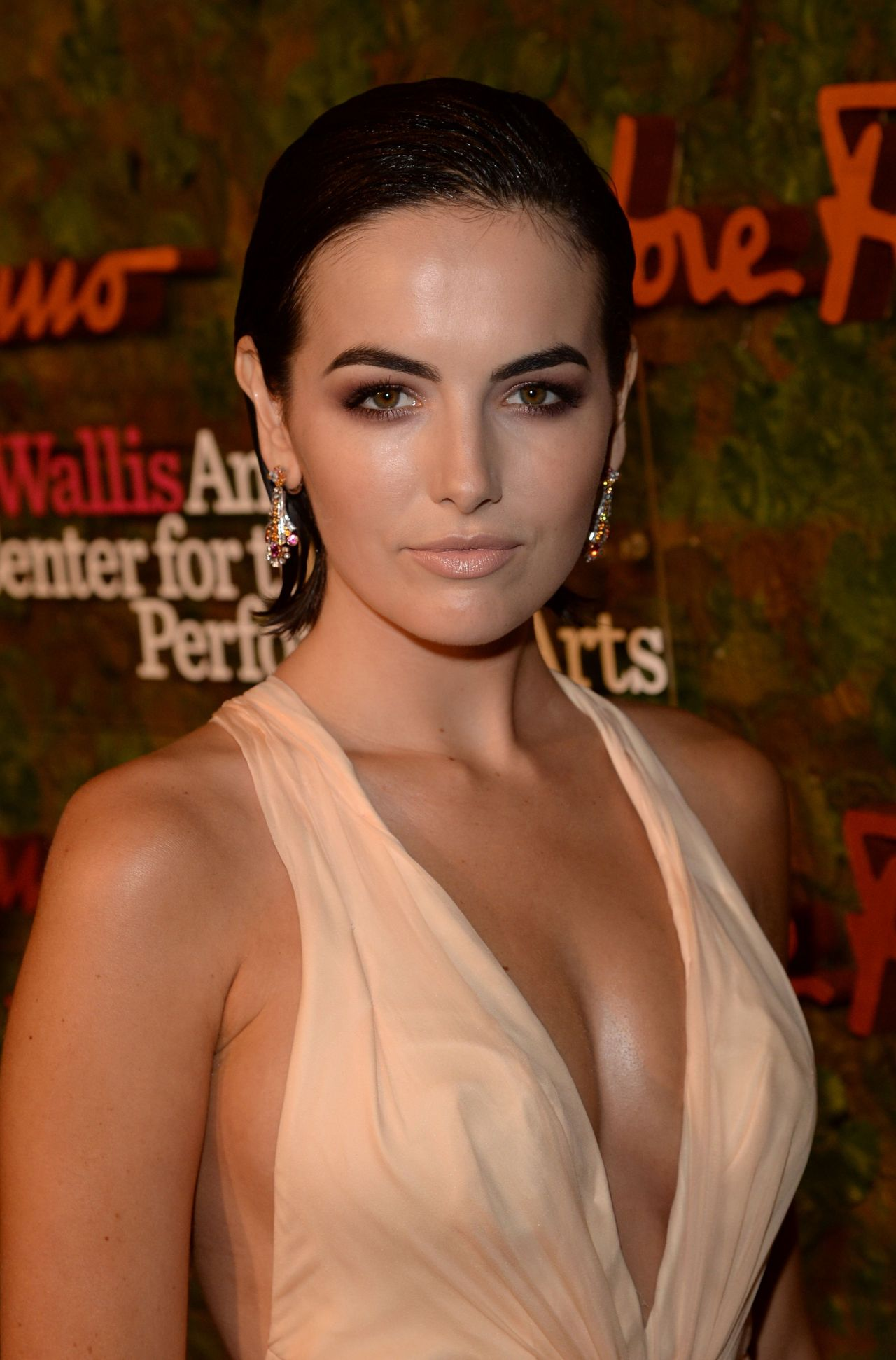 Camilla Belle at Wallis Annenberg Performing Arts Gala in