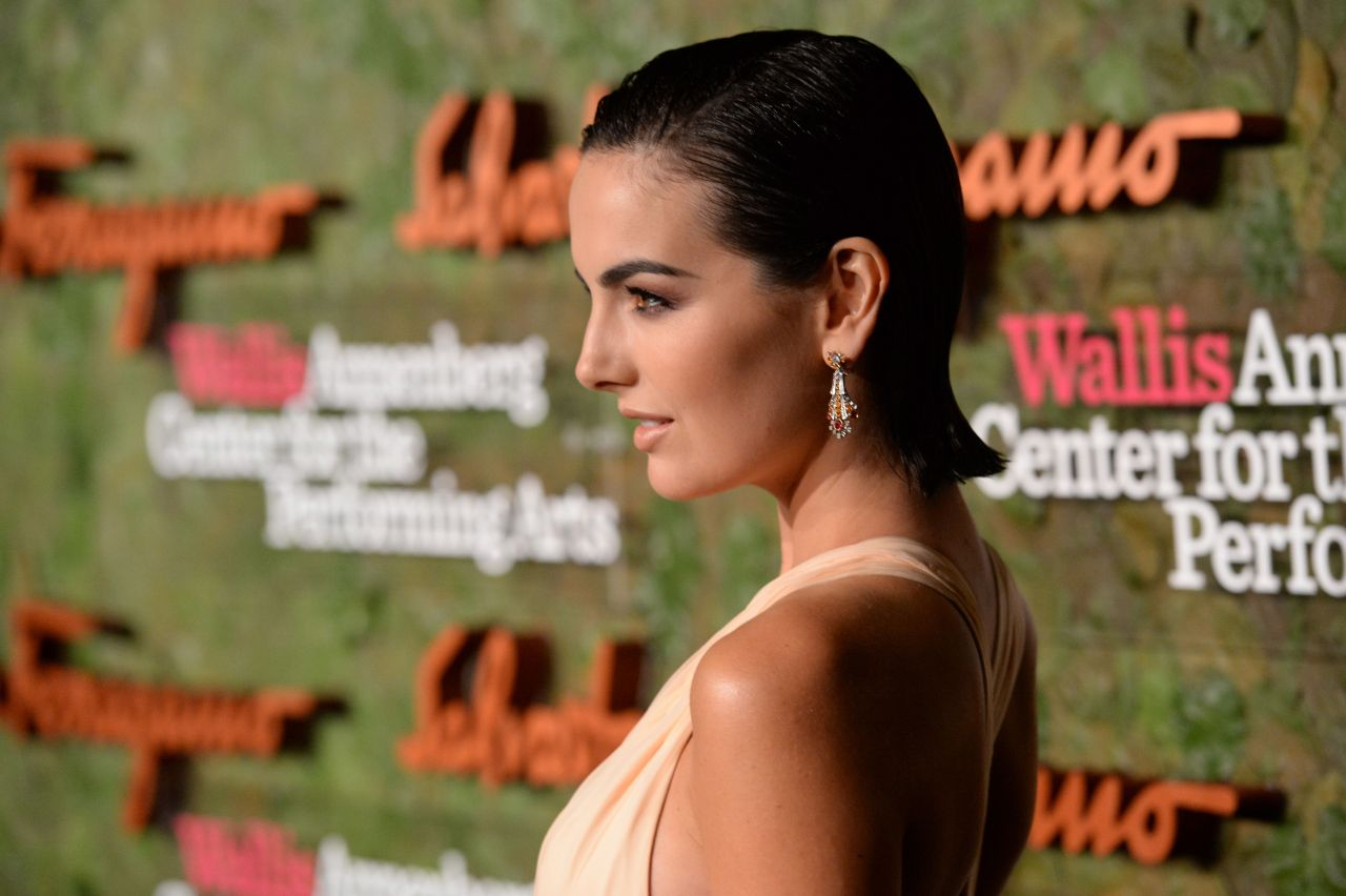 Camilla Belle Sexy Celebrity Legs: Camilla Belle At Wallis Annenberg Performing Arts Gala In