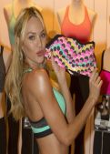 Candice Swanepoel - Launch of World