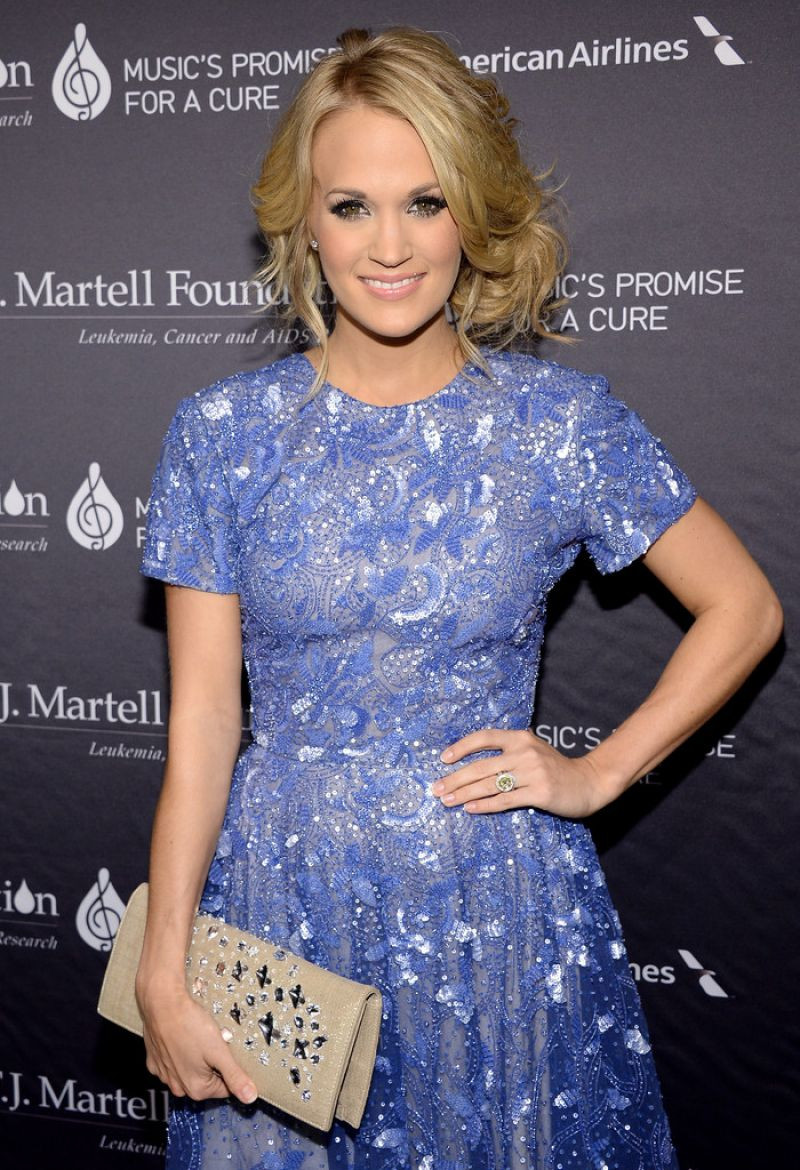 Carrie Underwood - T.J. Martell Foundation Gala in New York City