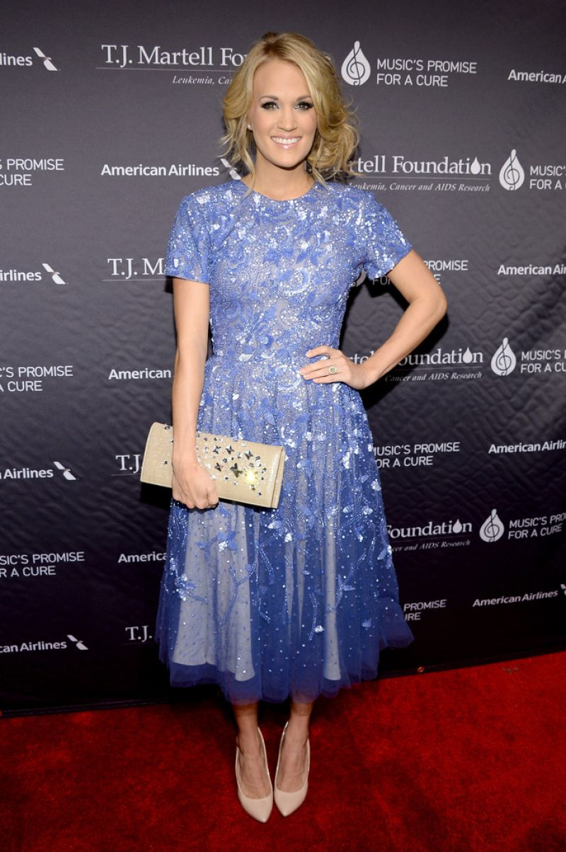 Carrie Underwood - T.J. Martell Foundation Gala in New York Cityunderwood city