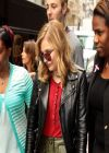 Chloe Moretz Street Style - Leaving SiriusXM Studios in New York City