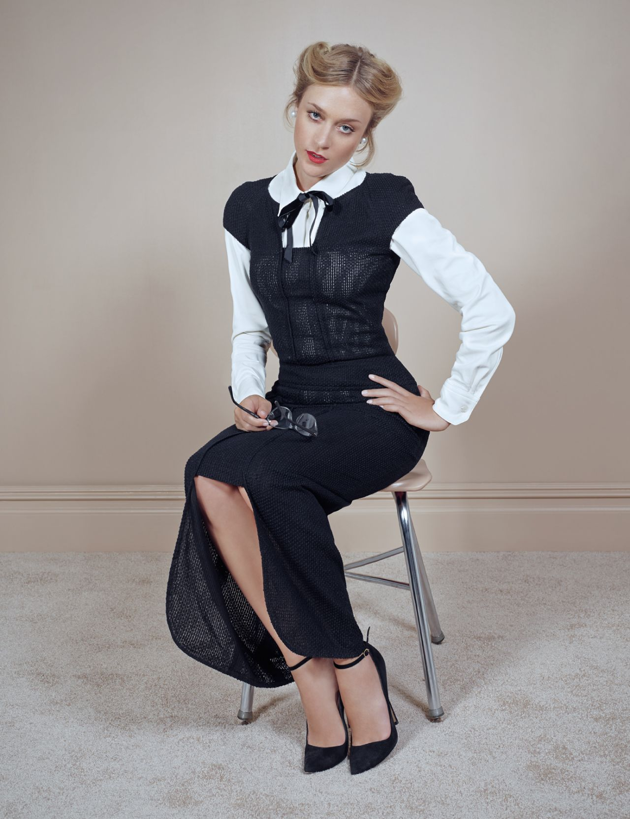 Chloe Sevigny - David Dunan Photoshoot for Town & Country, November 2013