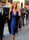 Christie Brinkley Arrives At Today Show