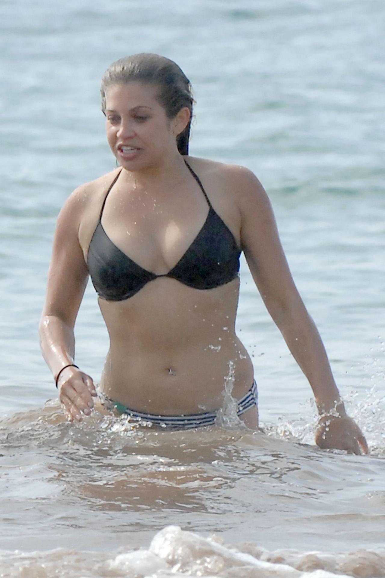 Danielle Fishel in a Bikini - Beach in Hawaii • CelebMafia