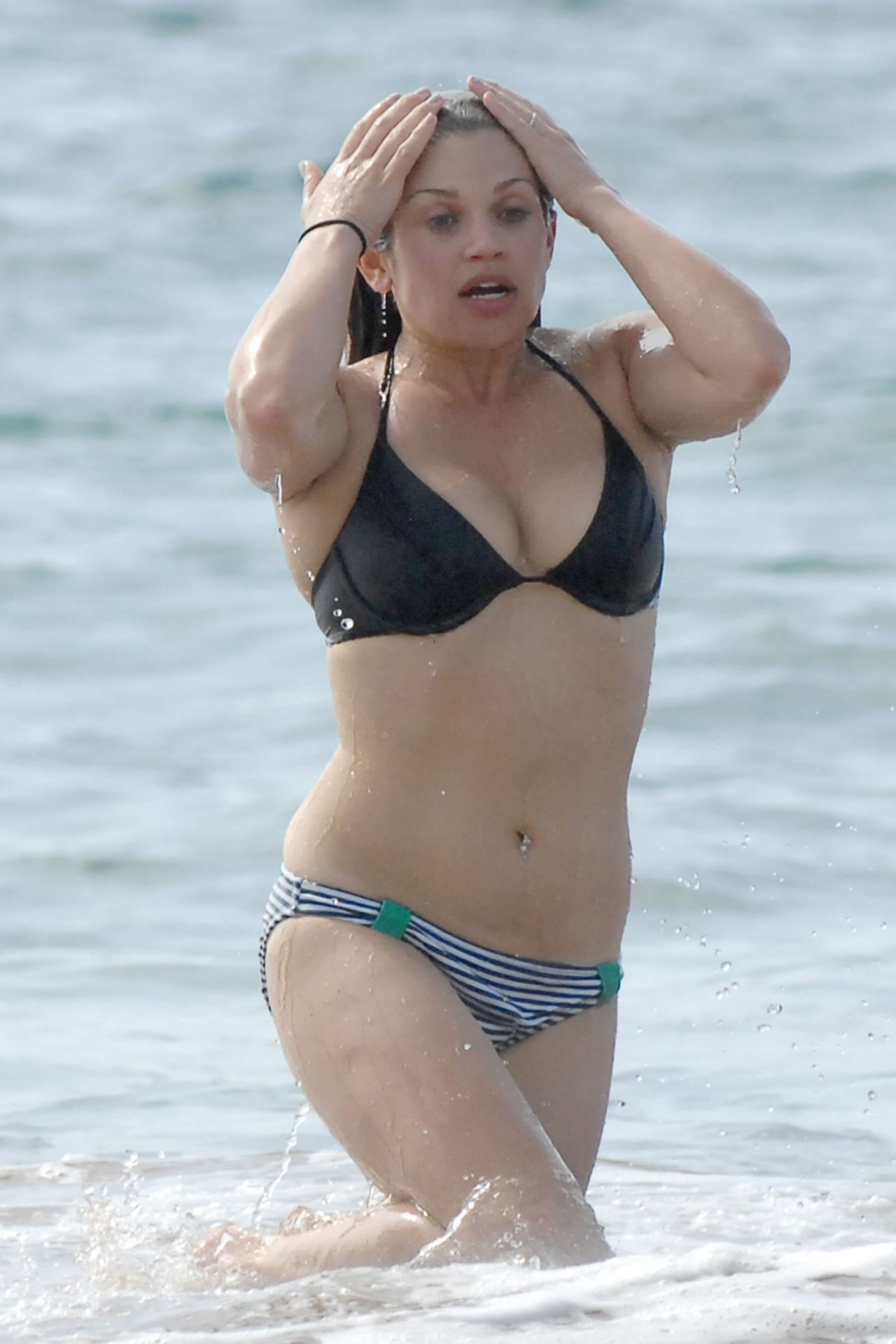 Danielle Fishel In A Bikini Beach In Hawaii