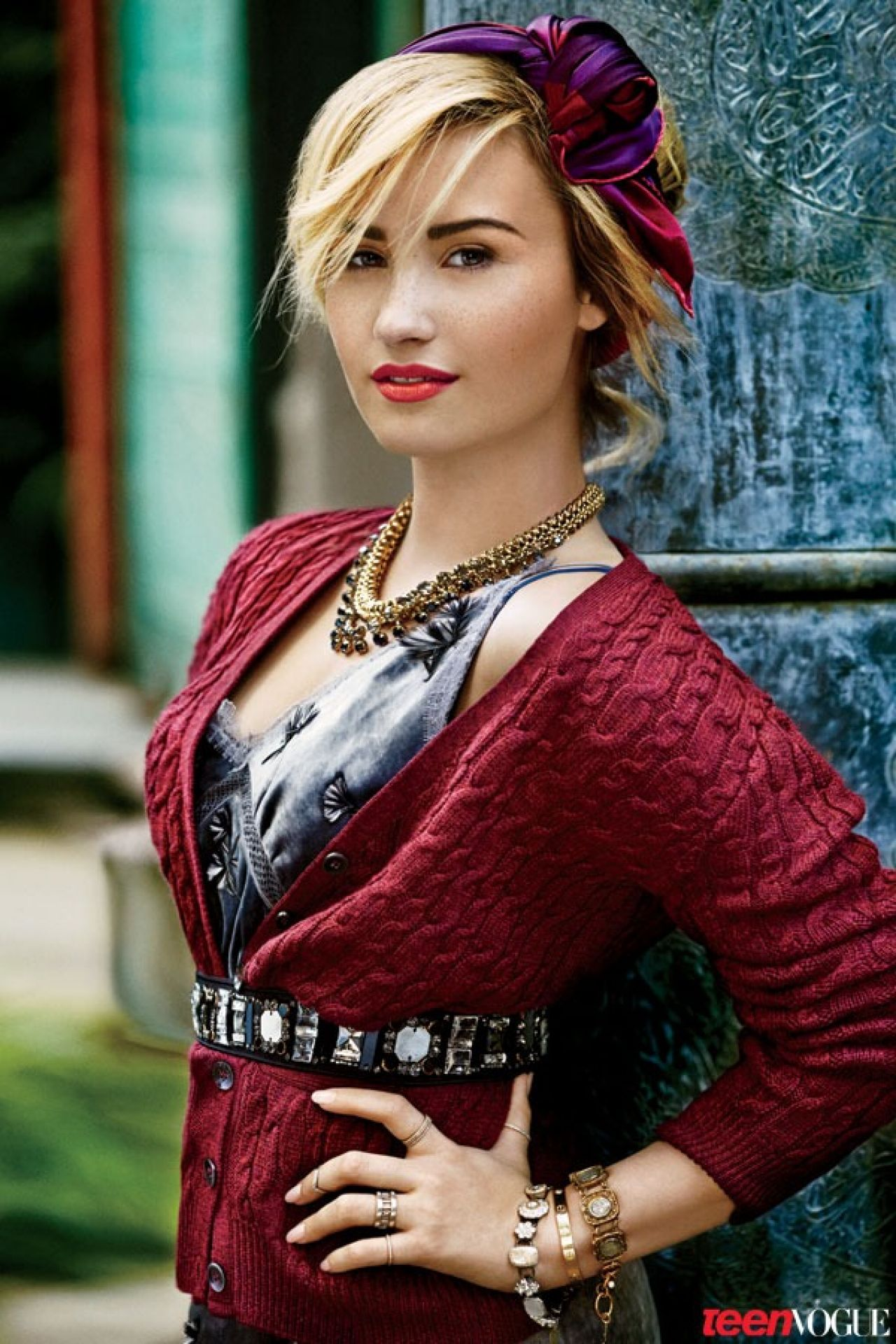 Demi Lovato in Teen Vogue, November 2013