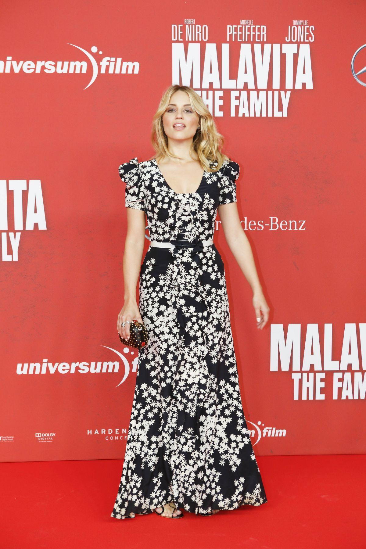 Dianna Agron - FAMILY (Malavita) Premiere in Berlin