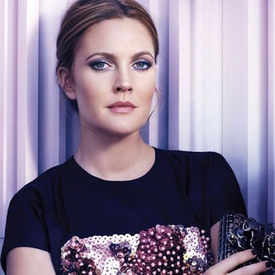 Drew Barrymore in InStyle UK - Novemeber 2013 Issue