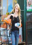 Emma Roberts Street Style  - Running Errands in Weho
