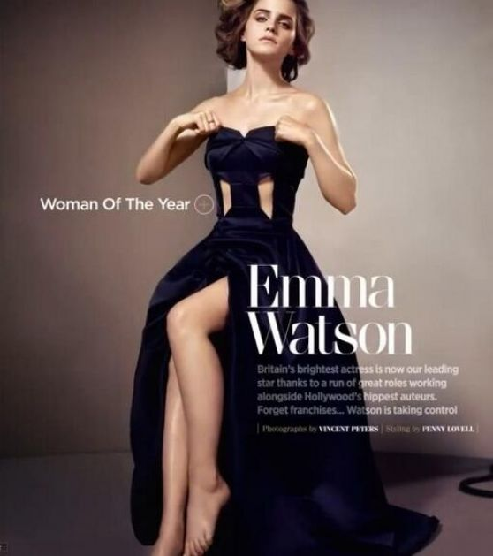 Emma Watson - GQ UK October 2013