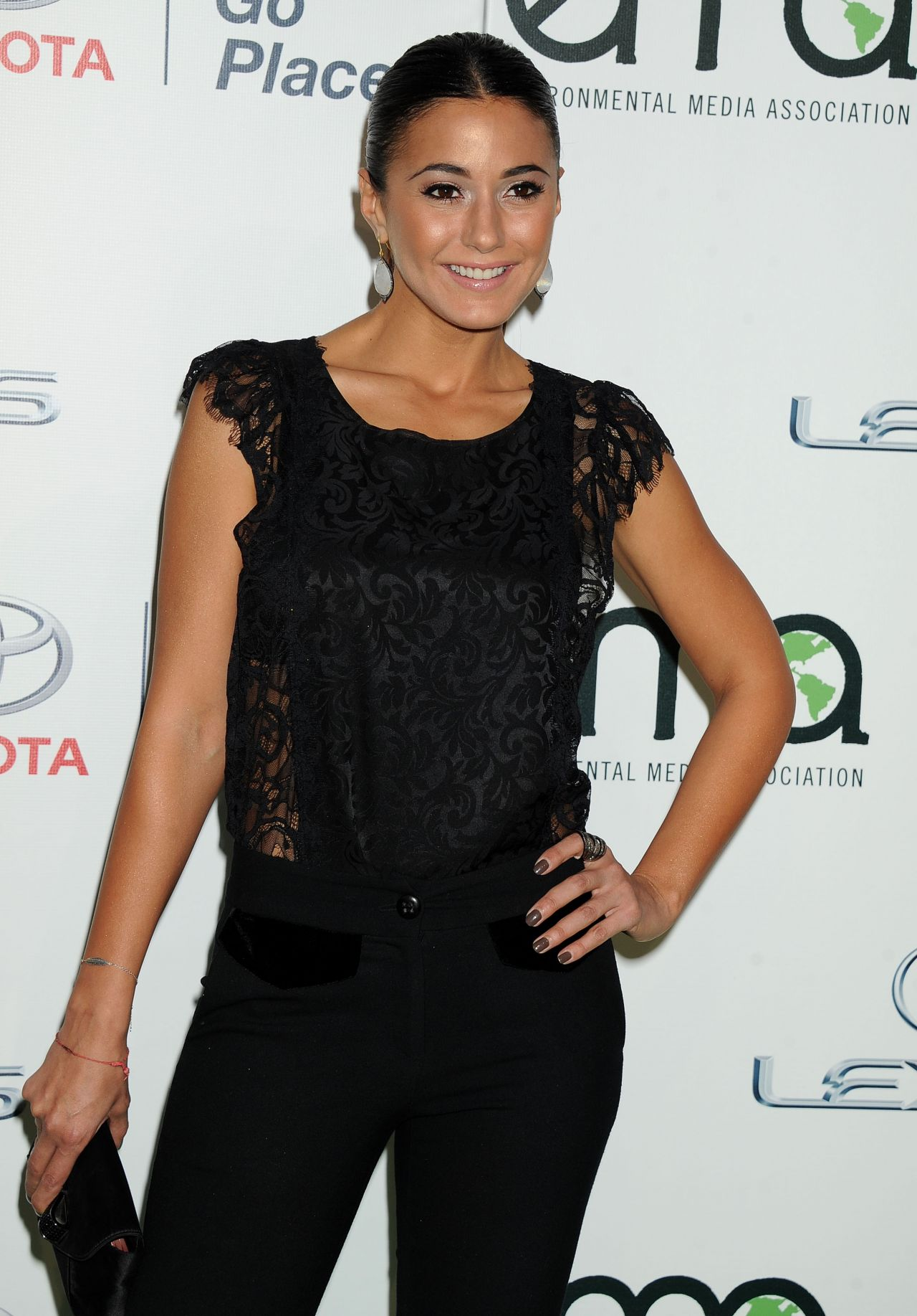 Emmanuelle Chriqui at 23rd Annual Environmental Media Awards