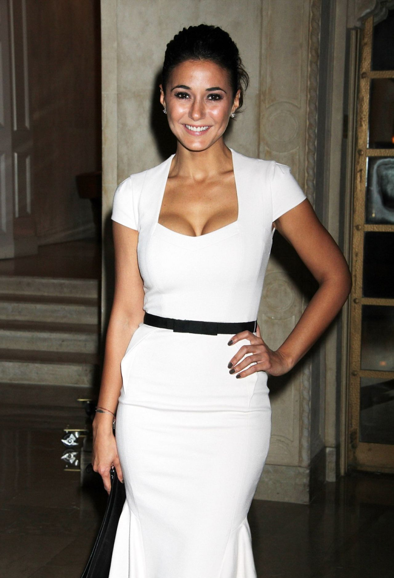 Emmanuelle Chriqui at Skin Cancer Foundation Gala in New York