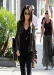 Emmanuelle Chriqui Street Style - Out and about in Beverly Hills
