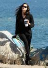 Emmy Rossum In All Black, Los Angeles