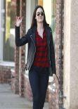 Emmy Rossum Street Style - Los Angeles October 2013